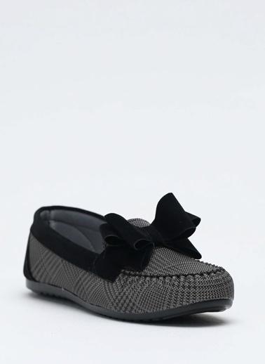 Shoes1441 Babet Siyah